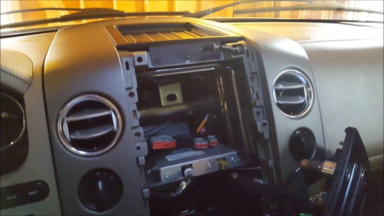 aftermarket headunit navigation install 04 08 f150 mark lt w oem backup camera display [ 1280 x 720 Pixel ]