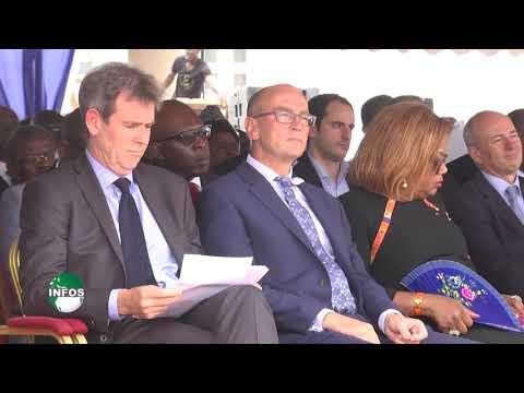 Cérémonie de la pose  dela première pierre Douala Grand Mall & Business Park - Infos Canal 2