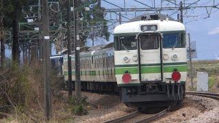 上越線EF64-1031牽引115系S12+S1+L11編成廃車回送 五日町→六日町にて