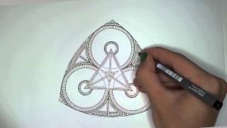 Trefoil Motive Doodle