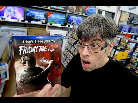 Hoarding Up  -  Friday The 13th The Ultimate Collection