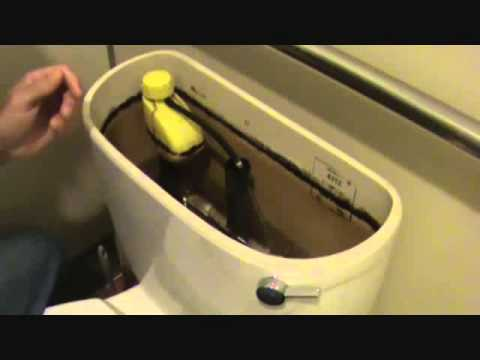 Adjusting The Water Level In A Toilet Tank Youtube