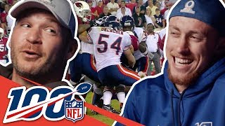 Brian Urlacher & George Kittle Kick Back & Share Favorite Moments | NFL 100 Generations