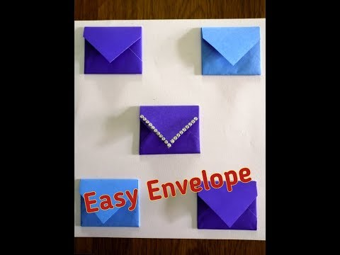 DIY How to make easy paper Envelope | best out of waste | paper craft