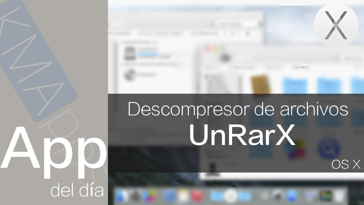 Apps para Mac | UnRarX - Descompresor para Mac