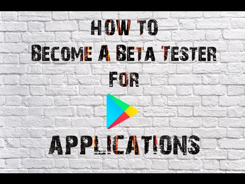 How To Become A Beta Tester For Google Play Applications