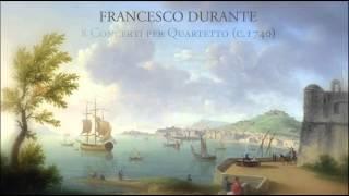 Fr. Durante - 8 Concerti per Quartetto (c.1740)