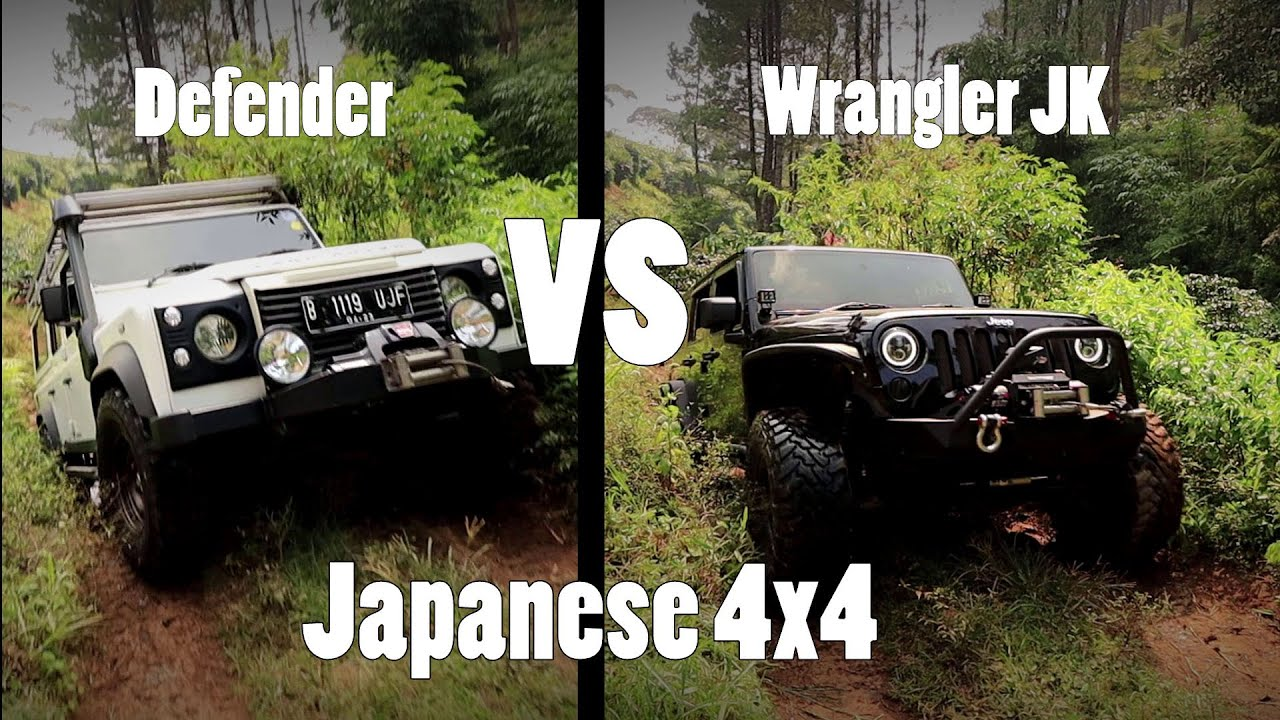 How JK and Defender fight Pajero Sport and D max 4x4