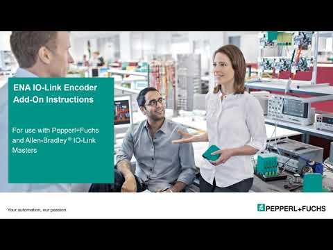 Integration – IO-Link Encoder to Allen-Bradley® PLC