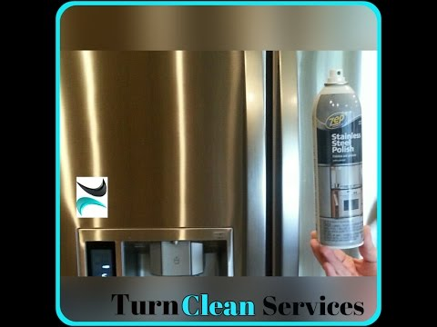 Cleaning Stainless Steel Appliances - How to Shine!
