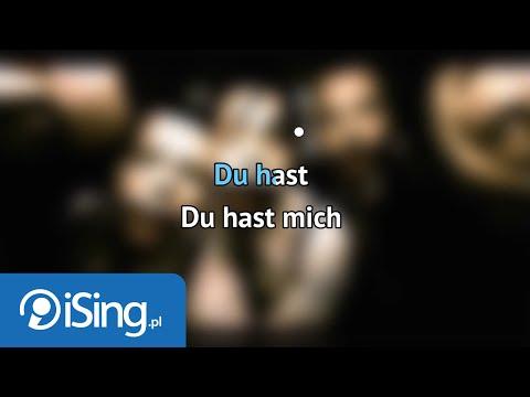 Rammstein - Du hast (karaoke iSing)