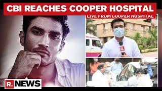 Sushant Death Probe: CBI Team Reaches Cooper Hospital