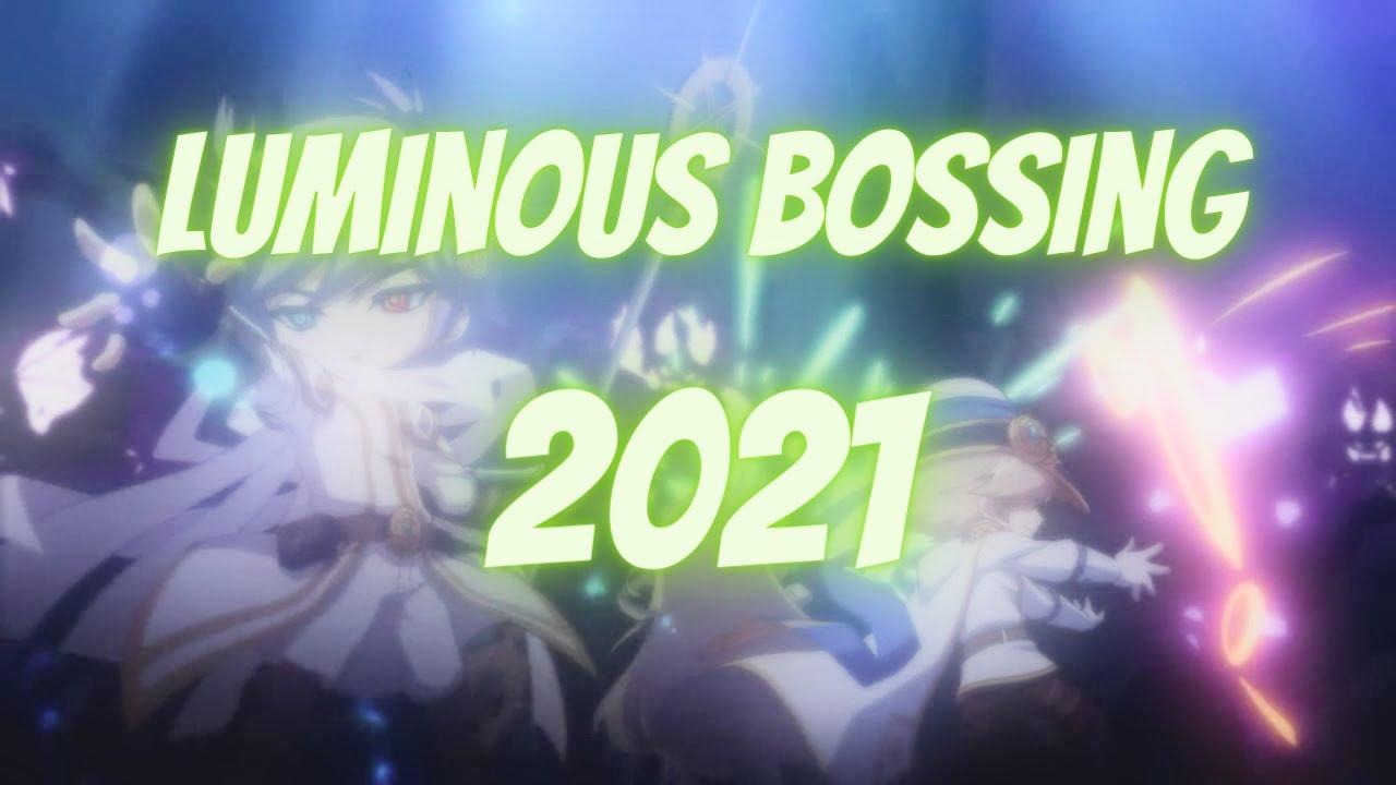 Maplestory Luminous Bossing In 2021