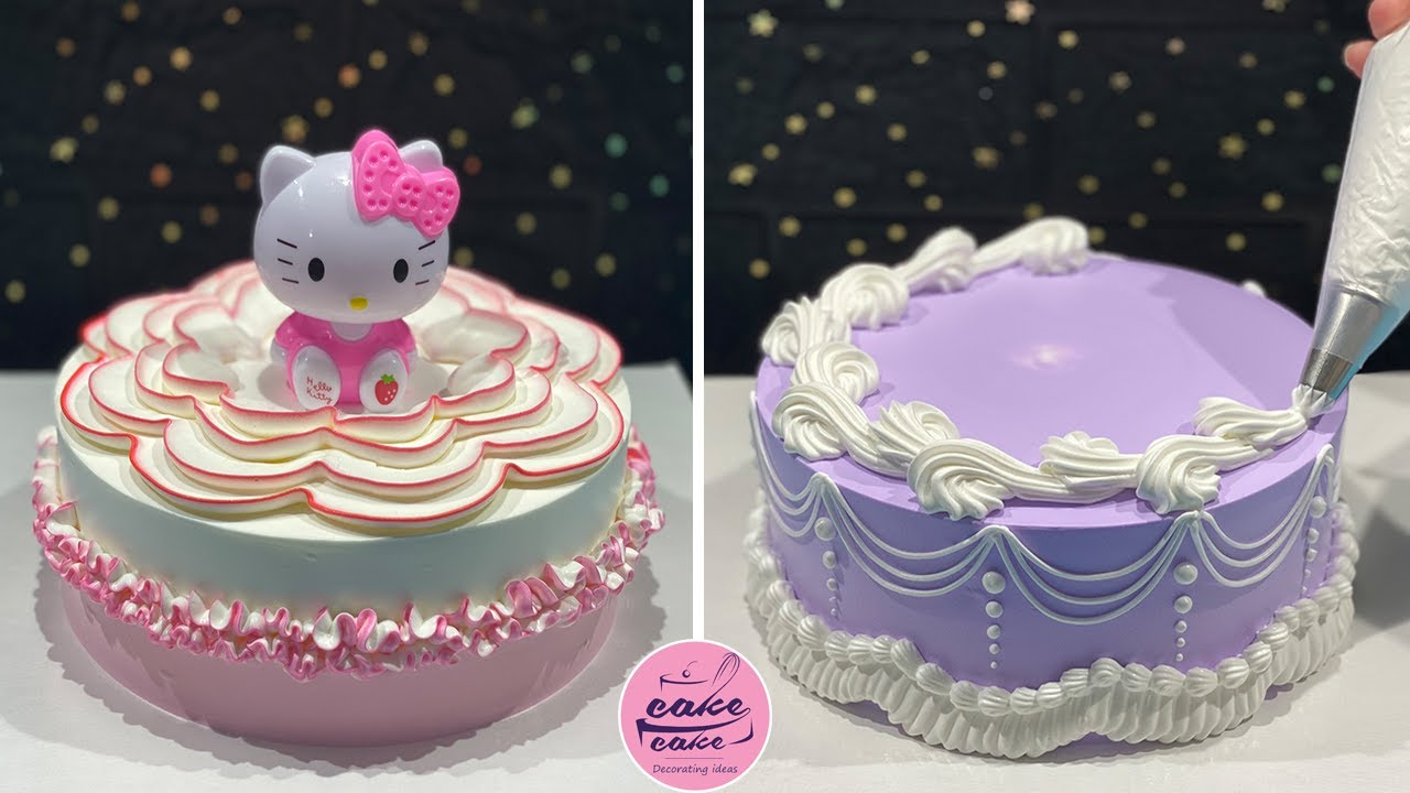Delicious Cake Decorating Ideas For Happy Birthday | Beautiful Cake Tutorials at Home