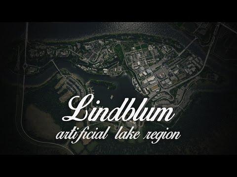 Cities: Skylines | Lindblum - Artificial Lake Region