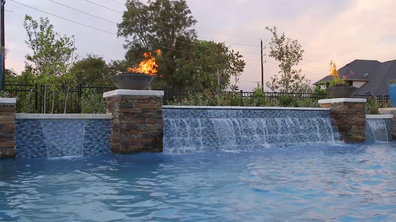 Featured Pool Project Katy Texas Custom Pool Builder