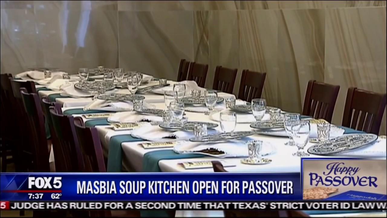 Masbia of Boro Park Passover Seder on Good Day New York Fox5 TV  #CharosetDrive