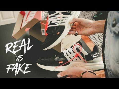 NIKE OFF WHITE PRESTO REAL VS FAKE