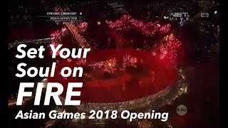 Download lagu 'Set Your Soul on FIRE' (Sidney Mohede Vocal Contribution in Asian Games 2018 Opening) *Low Res