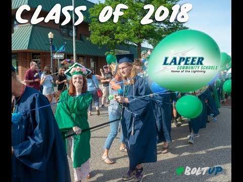 Lapeer High School Commencement - Class of 2018