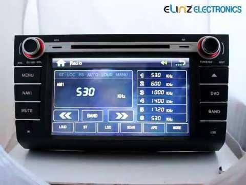 "Car Entertainment System:8""Suzuki Swift Car DVD Player GPS ..."