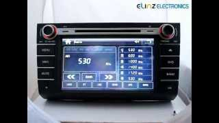 "Car Entertainment System:8""Suzuki Swift Car DVD Player GPS Navigation Head Unit Stereo Radio IPOD."