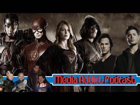 /Media Addict Episode 6: Flash Arrow Supernatural Finales, The CW  Superhero Universe
