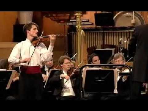 Lorenzo Gatto | Paganini Violin Concerto # 1 | 1st Mvt | Queen Elisabeth Violin Comp | 1 of 3 | 2009
