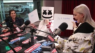 Marshmello and Anne-Marie Best Friends Challenge | Radio Disney