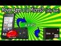 Cómo mover aplicaciones a la microSD - Jelly Bean