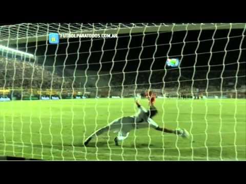 La definición por penales. Central 0 (4) - Huracán 0 (5). Final. Copa Argentina. FPT.