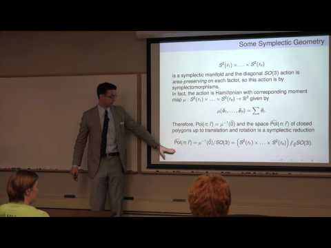 Clayton Shonkwiler: The Symplectic Geometry of Polygon Space and How to Use It