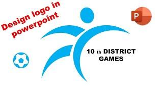 design sport logo in power point, logo designing in PowerPoint, logo in powerpoint, ppt logo