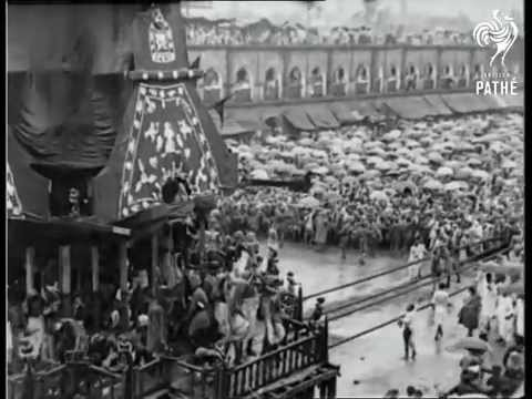 Rare Video of Puri Jagannatha Ratha Yatra in 1928