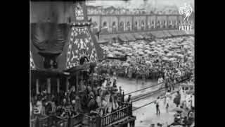 Rare Video of Puri Jagannatha Ratha Yatra in 1928
