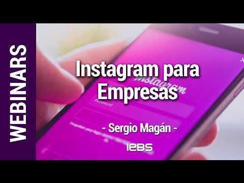 Webinar: Instagram para Empresas