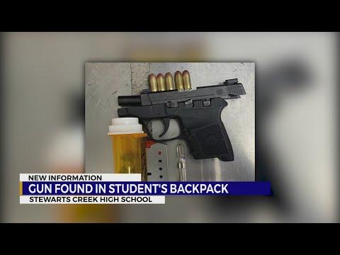 Gun Confiscated at Nashville High School