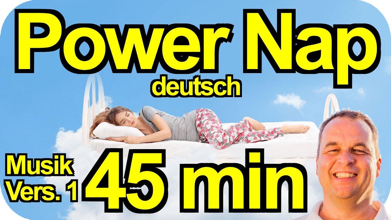 NEU: 45 min PowerNap 🔥KRASS! Lädt deine Akkus, schenkt dir Power und energiegeladene Stunden🚀
