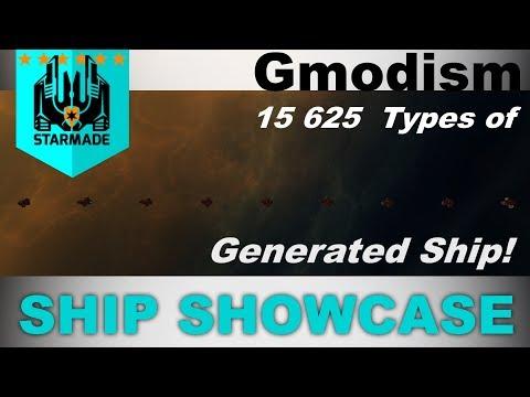 StarMade Ship Reviews: Smartest Generator Ever 15625 Different Ships