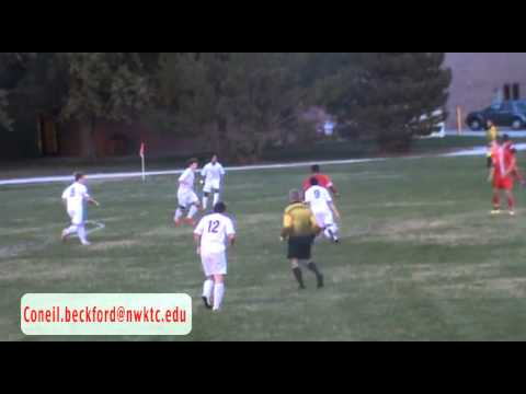 Coneil Beckford northwest kansas technical college soccer highlights