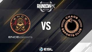 Rainbow Six Pro League - Season 9 - EU - ENCE eSports vs. CHAOS - Week 2