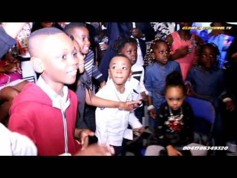 ANNIVERSAIRE de Nzilambi Chrisdavid Prestone 4 ans Fils de Papy de Berne et Sandralove