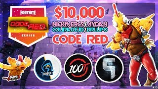 $10,000 🥊Aydan Nickmercs VS CourageJD DrLupo🥊 Code Red (Fortnite)