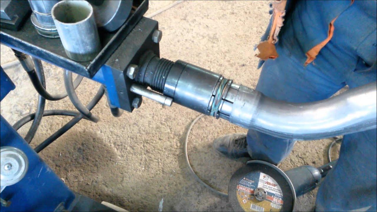 Изготовление выхлопных систем на трубогибном станке