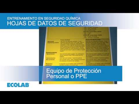 Ecolab Chemical Safety Training All Modules Spanish