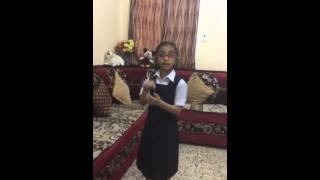 hindi poem recitation by kangana patel std 2