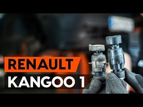 Как заменить переднюю тягу стабилизатора RENAULT KANGOO 1 (KC) [ВИДЕОУРОК AUTODOC]