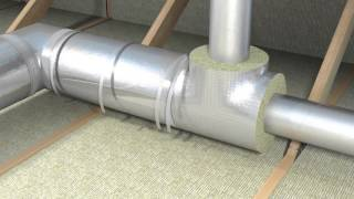 AirCoat insulation for ventilation ducts(Animated installation video of PAROC AirCoat insulation for ventilation duct., 2015-09-29T12:31:06.000Z)