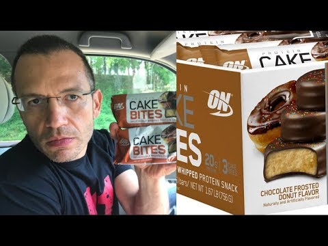 on-protein-cake-bites---new-frosted-donut-flavor---review