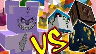 URSINHO TEDDY VS. TODOS OS LUCKY BLOCKS (MINECRAFT LUCKY BLOCK CHALLENGE TEDDY BEAR)